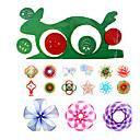 baratos Desenho Brinquedos-Brinquedo para Desenhar Lousas Mágicas Spirograph Diversão Plástico Crianças Brinquedos Dom