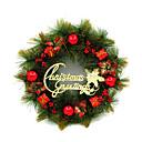 ราคาถูก ของตกแต่งHoliday-ตกแต่งวันคริสมาสต์ อุปกรณ์งานคริสต์มาส ต้นคริสต์มาส Holiday Supplies 1 คริสมาสต์ พลาสติค สายรุ้ง