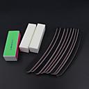 ราคาถูก ตะไบเล็บ&ที่ขัด-ผงแร่ที่ใช้สำหรับขัดพื้นผิวต่างๆ / ฟองน้ำ ไฟล์และบัฟเฟอร์ Nail Art สำหรับ เล็บมือ Mini Style เล็บ ทำเล็บมือเล็บเท้า ง่าย / คลาสสิก ทุกวัน