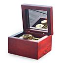 ราคาถูก กล่องดนตรี-กล่องดนตรี แปลกใหม่ ทำด้วยไม้ คลาสสิกและถาวร เด็กผู้ชาย เด็กผู้หญิง Toy ของขวัญ
