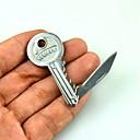 billige Kjøkkenutstyr og -redskap-mini nøkkelring sammenleggbar lommekniv i rustfritt stål blad overlevelse utendørs camping taktisk håndverktøy