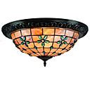 رخيصةأون أضواء السقف والمعلقات-CXYlight 4-الضوء تركيب السقف المدمج ضوء محيط طلاء ملون معدن صدف استايل مصغر 110-120V / 220-240V لا يشمل لمبات / E26 / E27