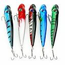 ราคาถูก เหยื่อตกปลา-1 pcs เหยื่อตกปลาเหล็ก ที่ลวงตาในเบ็ด Hard Bait Sinking Bass ปลาเทราท์ หอก เบทคาสติ้ง การตกปลาทั่วไป Metal