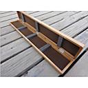 Χαμηλού Κόστους Camping Εργαλεία, Καραμπίνερ & Σχοινιά-Κουτί Εργαλείων Πλωτό Κουτί 1 Δίσκος Ξύλο 50 cm 3 cm / Γενικό Ψάρεμα