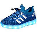 Χαμηλού Κόστους LED Παπούτσια-Αγορίστικα LED / Ανατομικό PU Αθλητικά Παπούτσια Τα μικρά παιδιά (4-7ys) / Μεγάλα παιδιά (7 ετών +) Κορδόνια Μαύρο / Φούξια / Πράσινο Άνοιξη / Φθινόπωρο / TR
