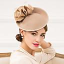 ราคาถูก เครื่องประดับผมสำหรับงานปาร์ตี้-ผู้หญิง ขนนก Polyester ขนสัตว์ หูฟัง-การแต่งงาน โอกาสพิเศษ ชุดลำลอง ที่คาดผมแฟนตาซี หมวก 1 ชิ้น