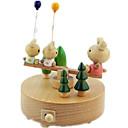 ราคาถูก กล่องดนตรี-กล่องดนตรี Bear Cartoon คลาสสิกและถาวร น่ารัก สำหรับเด็ก ผู้ใหญ่ เด็ก ของขวัญ ของขวัญ