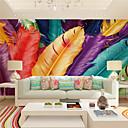 Χαμηλού Κόστους Τοιχογραφία-Τοιχογραφία Καμβάς Κάλυψης τοίχων - κόλλα που απαιτείται Art Deco / 3D