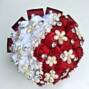 """povoljno Svadbeni ukrasi-Cvijeće za vjenčanje Buketi / Jedinstven svadbeni dekor Special Occasion / Zabava / večer Perle / Umjetno drago kamenje / Svila 19,7 """"(Approx.50cm)"""