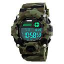 Χαμηλού Κόστους Μοδάτες Καρφίτσες-SKMEI Ανδρικά Αθλητικό Ρολόι Στρατιωτικό Ρολόι Ρολόι Καρπού Ψηφιακή Συνθετικό δέρμα με επένδυση Πολύχρωμο 30 m Ανθεκτικό στο Νερό Συναγερμός Ημερολόγιο Ψηφιακό καμουφλάζ Πράσινη / Δύο χρόνια / LED