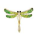 ราคาถูก เข็มกลัด-สำหรับผู้หญิง เข็มกลัด สุภาพสตรี แฟชั่น เข็มกลัด เครื่องประดับ สีทอง สีเขียว สำหรับ ที่มา