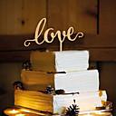 Χαμηλού Κόστους Μαγειρικά Σκεύη Κατασκήνωσης-Διακοσμητικό Τούρτας Θέμα Πεταλούδα Μονόγραμμα Ρητίνη Γάμου με 1 OPP