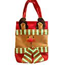 ราคาถูก ของตกแต่งHoliday-ตกแต่งวันคริสมาสต์ อุปกรณ์งานคริสต์มาส กระเป๋าของขวัญ Santa Suits Elk มนุษย์หิมะ สิ่งทอ Toy ของขวัญ 3 pcs