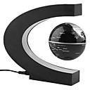 ราคาถูก ดาราศาสตร์ของเล่นและโมเดล-Floating Globe / Globe แผนที่ / Creative เด็กผู้ชาย / เด็กผู้หญิง 1 pcs ชิ้น พีวีซี