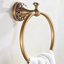 ราคาถูก ที่แขวนผ้าขนหนู-ที่แขวนผ้าเช็ดตัว Neoclassical ทองเหลือง 1 ชิ้น - อ่างอาบน้ำของโรงแรม แหวนผ้าเช็ดตัว