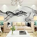 povoljno Zidne tapete-Mural Platno Zidnih obloga - Ljepila potrebna Cvjetni print / Art Deco / 3D
