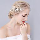 billiga Kroppssmycken-Kristall / Bergkristall / Legering Hair Combs / Huvudbonad med Blomma 1st Bröllop / Speciellt Tillfälle Hårbonad
