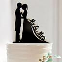 ราคาถูก ของประดับตกแต่งงานแต่งงาน-เครื่องประดับเค้ก อะคริลิค / วัสดุผสม เครื่องประดับจัดงานแต่งงาน วันเกิด / งานแต่งงาน / วันวาเลนไทน์ ธีมคลาสสิก ฤดูใบไม้ผลิ / ฤดูร้อน / ตก