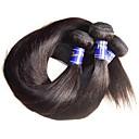 billiga Fläta av remy-människohår-Äkta hår Fläta av remy-människohår Rak Peruanskt hår 1000 g Längre än ett år