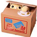 ราคาถูก ธนาคารแบงค์ / ธนาคารกษาปณ์-จอแสดงผลรุ่น กระปุกออมสิน แปลกใหม่ เครื่องใช้ไฟฟ้า แมว ABS ผู้ใหญ่ เด็กผู้ชาย เด็กผู้หญิง Toy ของขวัญ