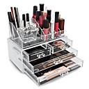 ราคาถูก กล่อง กระเป๋า และกระปุก-Cosmetics Storage หน้าจอ แต่งหน้า อะคริลิค / พลาสติก Others ทุกวัน เมคอัพประจำวัน Large Capacity ประทิ่น Grooming Supplies