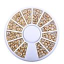 Χαμηλού Κόστους Στρας&Διακοσμητικά-1pcs Κοσμήματα Νυχιών τέχνη νυχιών Μανικιούρ Πεντικιούρ Καθημερινά Glitters / Μεταλλικός / Μοντέρνα / Κοσμήματα νυχιών