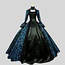 Χαμηλού Κόστους Camera Bag-Πριγκίπισσα Γοτθική Λολίτα Φορέματα Γυναικεία Πάρτι Χοροεσπερίδα Ιαπωνικά Κοστούμια Cosplay Μεγάλα Μεγέθη Προσαρμοσμένη Μαύρο Βραδινή τουαλέτα Λαχούρι Μακρυμάνικο Μέχρι τον αστράγαλο