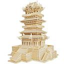 ราคาถูก จิ๊กซอว์3D-ปริศนาไม้ อาคารที่มีชื่อเสียง สถาปัตยกรรมแบบจีน บ้าน ระดับมืออาชีพ ทำด้วยไม้ 1pcs สำหรับเด็ก เด็กผู้ชาย ของขวัญ