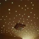 billige Veggklistremerker-76stars / 1set vegg klistremerker decal glød i mørket baby barn soverom hjem innredning farge stjerner lysende fluorescerende vegg klistremerker