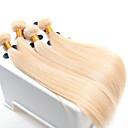povoljno Ekstenzije od prave kose prirodne boje-Virgin kosa Remy umeci od ljudske kose Ravan kroj / Klasika 500 g Više od jedne godine Dnevno