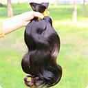 billige Hairextension med naturlig farge-Ubehandlet hår Remyfletninger av menneskehår Krop Bølge Brasiliansk hår 1000 g Over 1 år