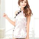 povoljno Seksi kostimi-Žene Otvorena leđa Veći konfekcijski brojevi Seksi bodi Noćno rublje Jednobojni Pink XL XXL XXXL