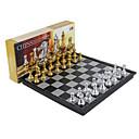 billiga Schackspel-Brädspel Schackspel Schack Professionell Magnet Indragbart Plast Klassisk & Tidlös Chic och modern 1 pcs Barn Vuxna Pojkar Flickor Leksaker Present