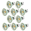 billige Etuier/deksler til Huawei-10pcs 5 W LED-spotpærer 550-650 lm GU10 1 LED perler COB Mulighet for demping Dekorativ Varm hvit Kjølig hvit 220-240 V / 10 stk. / CE