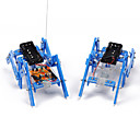 ราคาถูก หุ่นยนต์และส่วนประกอบ-ราชอาณาจักรปูวิทยาศาสตร์ DIY และเทคโนโลยีการเรียนการสอนการผลิตวัสดุ hexapod รุ่นหุ่นยนต์ขนาดเล็กประกอบของเล่นที่ผู้ปกครองเด็กที่ทำด้วยมือ