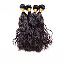 baratos Hubs USB-4 pacotes Cabelo Brasileiro Ondulado Natural Cabelo Virgem Cabelo Humano Ondulado Tramas de cabelo humano Extensões de cabelo humano / 10A