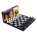 ราคาถูก เกมกระดาน-Board Game เกมหมากรุก Chess มืออาชีพ Magnetic สามารถพับเก็บได้ พลาสติก คลาสสิกและถาวร เก๋ไก๋และทันสมัย 1 pcs สำหรับเด็ก ผู้ใหญ่ เด็กผู้ชาย เด็กผู้หญิง Toy ของขวัญ