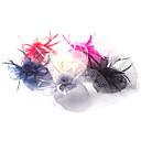 povoljno Party pokrivala za glavu-Til / Perje / Net Fascinators / Cvijeće s 1 Vjenčanje / Special Occasion Glava