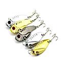ราคาถูก เหยื่อตกปลา-5 pcs ที่ลวงตาในเบ็ด Spoons Vibration เหยื่อตกปลาเหล็ก Spinner baits Sinking Bass ปลาเทราท์ หอก ตกปลาทะเล เบทคาสติ้ง Spinning Metal / การตกปลาแบบ Jigging / ปลาน้ำจืด / อุปกรณ์ตกปลาบาส