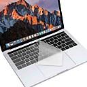 baratos Pulseiras Masculinas-xskn® europeus e americanos versão teclado pele TPU ultra-fino para 2016 novo MacBook Pro de 13,3 / 15,4 com barra de toque retina nos /