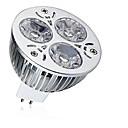 baratos Lâmpadas LED de Foco-1pç 9 W Lâmpadas de Foco de LED 600-700 lm MR16 3 Contas LED LED de Alta Potência Decorativa Branco Quente Branco Frio 12 V / 1 pç / RoHs