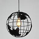 billige Island Lights-20cm vintage kreative terrestriske globus vedheng lys stue restaurant barn rom