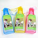 billiga Hundskålar ochutfodrare-Katt Hund Skålar & Vattenflaskor Plast Bärbar Gul Röd Blå Skålar och matning