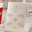 povoljno Pozivnice za vjenčanje-Zamotajte & Pocket Vjenčanje Pozivnice Others / Pozivnice Klasičan Materijal / Kartica papira Cvijet