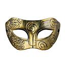 billiga Masker-Halloweenmaskar Maskeradmaskar Plast Vintage Retro Party Skräcktema Vuxna Pojkar Flickor