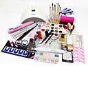 billiga Nagelset-77pcs Nail Art Tool Nail Art Kits & Tillbehör Nail Art Design