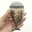 billige Foundationbørster-Profesjonell Makeup børster Foundationbørste 1pcs Bærbar Reisen Økovennlig Profesjonell Revehår børste / Syntetisk hår / Kunstig fiber børste Plast Sminkebørster til