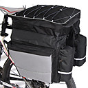 billiga Väskor till pakethållaren-FJQXZ 64 L Väska till pakethållaren / Cykelväska 3 I en Stor kapacitet Vattentät Cykelväska 600D Nylon Cykelväska Pyöräilylaukku Racercykel Mountain Bike Cykling / Cykel / Reflexremsa