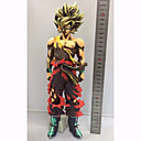billige Anime actionfigurer-Anime Action Figurer Inspirert av Dragon Ball Goku PVC 32 cm CM Modell Leker Dukke