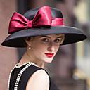 Χαμηλού Κόστους Τσαντάκια & Βραδινές Τσάντες-Βελούδο Kentucky Derby Hat / Καπέλα / Καλύμματα Κεφαλής με Φλοράλ 1pc Γάμου / Ειδική Περίσταση / ΕΞΩΤΕΡΙΚΟΥ ΧΩΡΟΥ Headpiece